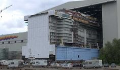 Video Showing Anthem of the Seas Block Floating Out Of Shipyard. http://www.cruisehive.com/video-showing-anthem-seas-block-floating-shipyard/3403