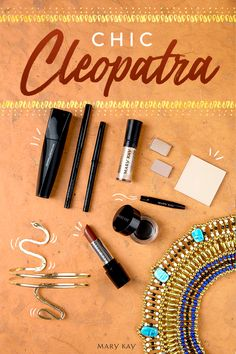 A Cleopatra makeup look fit for a queen on Halloween. This lovely look is all about the eyeliner! Sheer Lipstick, Natural Lipstick, Mary Kay, Cleopatra Makeup, Best Eyeshadow Palette, Beautiful Eye Makeup, Dark Skin Tone, No Eyeliner Makeup, Queen