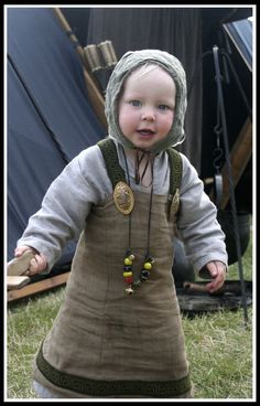 Viking Baby garb. Why? BECAUSE. -  Oh dear lord this is CUTE!