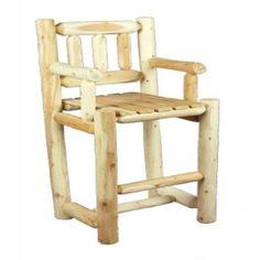 Rustic Natural Cedar Furniture Old Country 30 in. Bar Stool #logfurniture