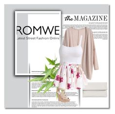 """""""ROMWE 8/IV"""" by amina-haskic ❤ liked on Polyvore featuring Whistles, Wet Seal and romwe"""