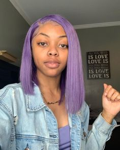 "M Y I A on Instagram: ""Guess who has purple hair now !!!!! #explore #viral 🥳 Follow @myiadanielle if viewing !!! 💘"""