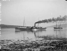 Stranraer Mail Boat, Larne, Co. Old Photographs, Old Photos, Old Postcards, Belfast, Northern Ireland, Irish, Boat, Places, Old Pictures