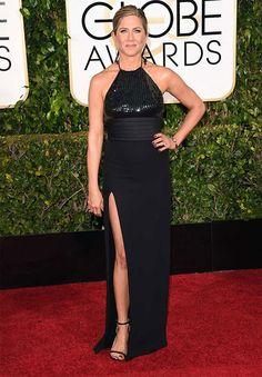 Los looks de los Globos de Oro 2015 Jennifer Aniston