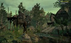 an ancient Argonian city #ESO