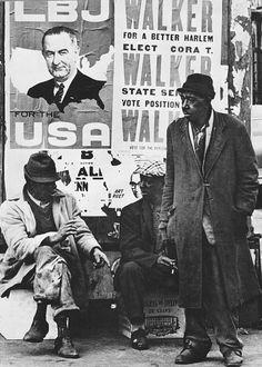Shawn Walker - Harlem, New York, ca. 1965. S)