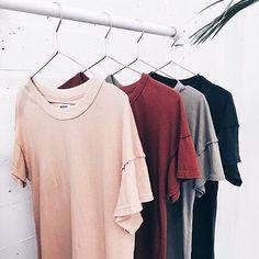 minimalist tshirts rose quartz