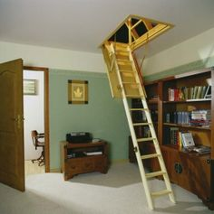 Pull Down Loft Ladder You Can Put This Out Of The Way
