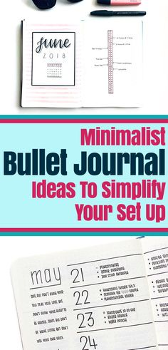 Minimalist Bullet Journal: Learn how to simplify your set up with these gorgeous minimalist bujo theme ideas. Bullet Journal Cover Page, Bullet Journal Hacks, Bullet Journal How To Start A, Bullet Journal Themes, Bullet Journal Spread, Bullet Journal Layout, Journal Covers, Bullet Journals, Life Planner