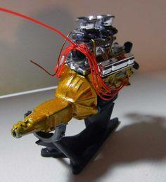 model car engine detailing   Model Car Engines