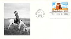 1989 North Dakota Native American Indian First Day Cover