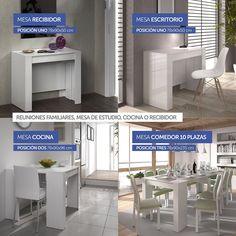 oferta Mesa cosola extensible kendra - ofertadehoy.es 2