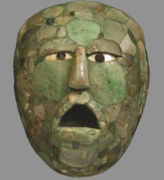 Les masques de jade Mayas Pinacothèque