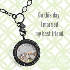#Inscriptions by #OrigamiOwl. Custom engrave a plate or a #Locket with your #wedding date or anything special to you! www.charmingsusie.origamiowl.com #anniversary #gift #bridalgift #weddinggift #mothersday