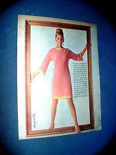 APONTE  Moda abbigliamento  Pagina da vecchia rivista BELLA del 1966