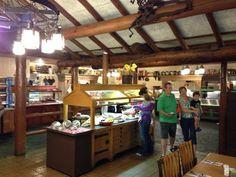 Trails End Dinner Buffet at Ft. Wilderness at Walt Disney World - MY FAVORITE!!!