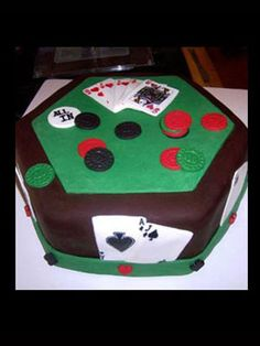 Poker #cake