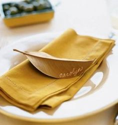 6 thanksgiving place settings