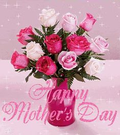 HAPPY MOTHER'S DAY FOR THE MOTHER'S WHO DIDN'T GET ANY FLOWERS, OR WHO LOVES SPARKLE, OR BOTH !!!!