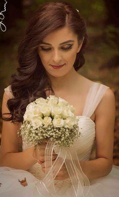 Gelin makyajı / Gelin çiçeği /Gelin saçı /