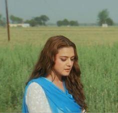 Preity Zinta in Veer Zaara. That hair.