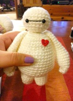Baymax Big Hero 6 Amigurumi Crochet Doll by Spudsstitches.deviantart.com on @DeviantArt