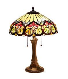 """CHLOE Lighting CH33448AV16-TL2 Victorian Table Lamp """"KASTOR"""""""