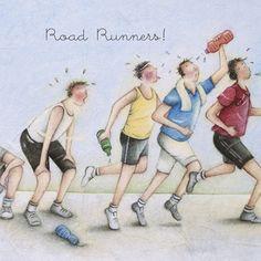 Cards » Road Runners » Road Runners - Berni Parker Designs