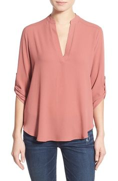 Love the cut of this shirt / (Nordstrom delivers to SA)