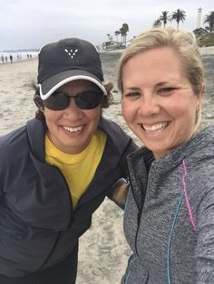 Getting in some training for our next race!  Stylishly sporting Vivacity- Founder Vivian in the Amanda Jacket & Ashley (Assistant Coach for San Diego State Women's Golf Team) in our Rachel Jacket!   www.vivacitysportswear.com  #FashionableFitness #activegirl #activelife #sportswear #SanDiego
