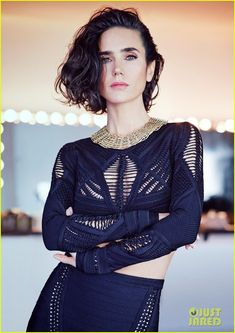 Jennifer Connelly - Page 12 - the Fashion Spot Beautiful Celebrities, Beautiful Actresses, Young And Beautiful, Beautiful People, Trendy Haircut, Short Haircuts, Hommes Sexy, Glamour, Up Girl