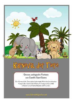 Musik im Unterricht, Werke: Karneval der Tiere