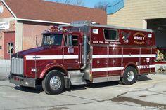 ◆Merrillville, NJ FD Rescue 1 ~ Kenworth Heavy-Duty Rescue Squad◆