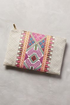 Penelope Chilvers Rostela Clutch - anthropologie.com
