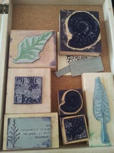 Picture of Laser-etched and Cut Rubber Stamps - Made at TechShop