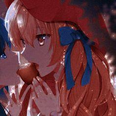 Anime Girlxgirl, Anime Art, Matching Pfp, Matching Icons, Matching Friend, Avatar Couple, Yuri, Princess Zelda, Photo And Video