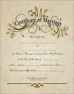 Topic one: Wedding Certificate Wedding Certificate, Marriage Certificate, Certificate Design, Certificate Templates, Wedding Book, On Your Wedding Day, Wedding Bride, Wedding Reception, Wedding Script