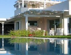 Villa Marina is a modern villa 1 km to nearest restaurant, 2 km to the beach and 3 km to the center of Marina di Ragusa. The villa has both a saltwater pool and a jacuzzi and the saltwater pool is perfect for people with allergies; it is spacious and has a whirlpool integrated on one side. Imagine enjoying a night in the illuminated garden after a full day of sightseeing. Relax and breathe slowly while a chef makes dinner using delicious Sicilian recipes.. // renatevillas.com