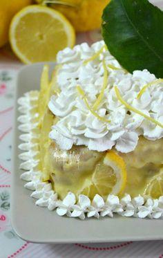 Tiramisù al limone, dolce fresco