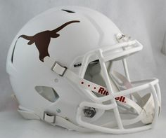 Texas Longhorns NCAA Authentic Speed Revolution Full Size Football Helmet from Riddell