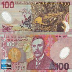Dollar, New Zealand, Cash Cash, Louis Xvi, Baseball Cards, World, 3, Banks, Palette