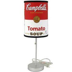 Campbell's® Tomato Soup Can Lamp - CampbellShop.com