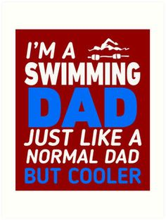 I'm A Swimming Dad