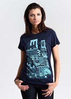 Brooklyn Tee, Brooklyn T-Shirt, City T-Shirts, Urban T-Shirts