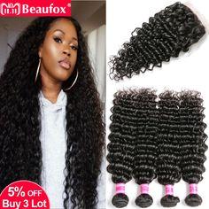 Have An Inquiring Mind Beaufox Straight Human Hair Bundles With Closure Remy Brazilian Hair Weave Bundles With Closure 3 Bundles & Closure Free Part 3/4 Bundles With Closure Human Hair Weaves