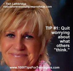 Tish Lethbridge's Tip for Teenagers