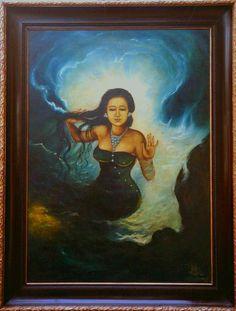 23 Best Nyi Roro Kidul Images Sea Queen Queen Of The