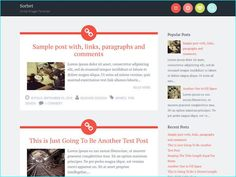 25 Bold & Beautiful Free Blogger Website Templates