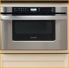 Sharp 24 under counter microwave