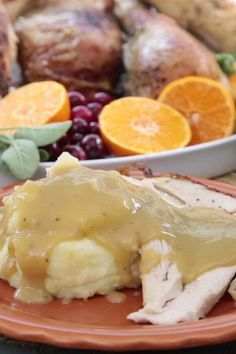 """Simple Turkey Gravy 
